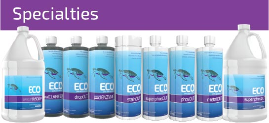 ECO Pool & Spa Specialty Chemicals